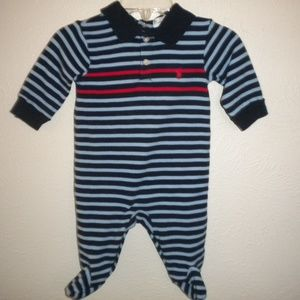 Ralph Lauren Baby Boys 0-3 Months One Piece Footed